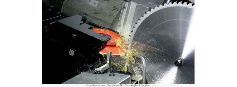 Заточка дисковых пил по металлу с твердотельными напайками