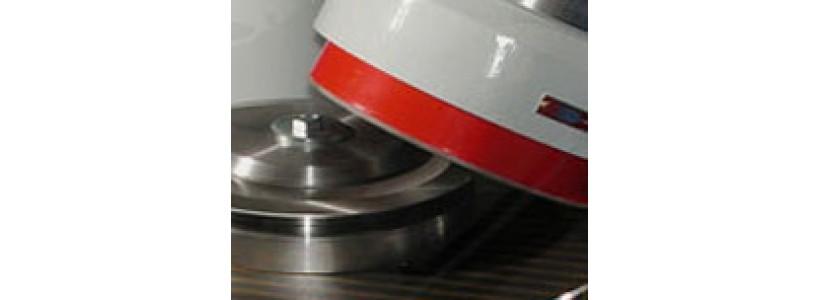 Промислова заточка дискових ножів на верстаті!